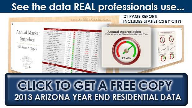 2013 Arizona Year End Residential Data Report